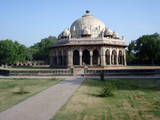 Isa Khan's Tomb Photographic Print by Copyright U.A. Satish. All rights reserved..
