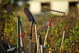 Gardening Tools Photographic Print by John Greim