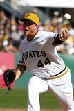 Sep 21, 2014, Milwaukee Brewers vs Pittsburgh Pirates - Tony Watson Photographic Print by Justin K. Aller