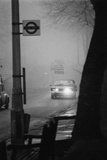 Fog Slows Traffic Photographic Print by Graham Wood