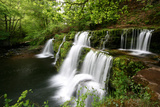 Waterfalls, Brecon Beacons National Park Photographic Print by Richard Collins