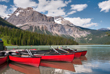 Emerald Lake Photographic Print by Steven Olmstead Photography