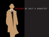 Half a Gangster 3 Stretched Canvas Print