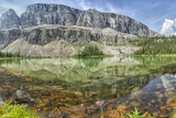 Refelction and Rock Shallows of Mountain Pond Photographic Print by Ascent Xmedia
