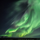 Northern Lights/Aurora Borealis Photographic Print by  nurdugphotos
