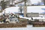 Sheepstor Village in the Snow, Dartmoor, England Photographic Print by David Clapp