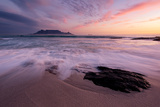 Table Mountain, Streaky Dusk Photographic Print by Paul Bruins Photography