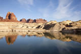 Scenic Image of Lake Powell and Glen Canyon National Recreation Area. Photographic Print by Justin Bailie
