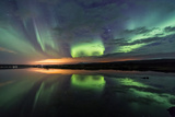 Northern Lights/Aurora Borealis Photographic Print by  nurdugphotos