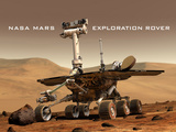 NASA Mars Exploration Rover Sprit Opportunity Photo Poster Print Posters