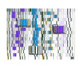 Thinker Collection STEM Art by Lisa C Clark - DNA Human Marker Sequence Fotografická reprodukce
