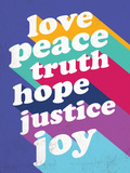 Love, Peace, Truth Photo