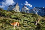 Cuernos Del Paine Fotografisk tryk af Tan Yilmaz
