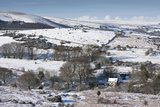 Hamel down in the Snow, Dartmoor, England Photographic Print by David Clapp