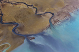 Aerial Photos over Lake Clark National Park Photographic Print by Gavriel Jecan