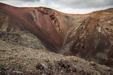 Red Volcano Crater at Timanfaya National Park Photographic Print by Santiago Urquijo