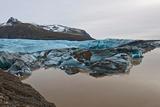 Svinafellsjokull Glacier Melting, Skaftafell National Park, Iceland Photographic Print by Henn Photography