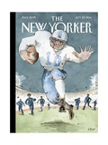 Illegal Procedure - The New Yorker Cover, September 29, 2014 Regular Giclee Print by Barry Blitt