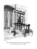 """We could have a lemonade stand, sweetie, but wouldn't you rather do a pop…"" - New Yorker Cartoon Premium Giclee Print by Peter Berkowitz"