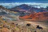 The Colorful Haleakala Crater, Maui, Hawaii Photographic Print by Pierre Leclerc Photography