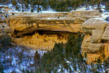 Mesa Verde National Park Winter, Cliff Dwellings Photographic Print by Moving Cloud Productions Inc.