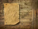 Wood Background Wild West Style Photographic Print by  Hannuviitanen