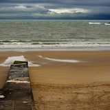 A Stormy Afternoon on the Beach of Gorliz Photographic Print by  kba