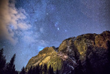 Starry Sky, Yosemite Valley Photographic Print by Don Smith