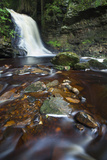 Hareshaw Linn Waterfall, Bellingham, Northumberland National Park, Northumberland, North East Engla Photographic Print by Jason Friend