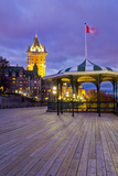 Quebec City, Terrasse Dufferin Photographic Print by Alan Copson