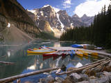 Moraine Lake, Banff National Park Photographic Print by Brian Lawrence