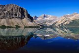 Bow Lake, Banff Nationalpark, Canada Photographic Print by Hans-Peter Merten