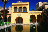 Mercury's Pool in Gardens of Reales Alcazares, Sevilla, Andalucia, Spain, Europe Photographic Print by David Tomlinson