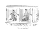 """Try to look housebroken."" - New Yorker Cartoon Premium Giclee Print by Danny Shanahan"
