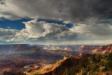Storm Clouds over Grand Canyon Photographic Print by Don Smith