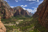 Angels Landing Trail, Zion National Park, Utah Photographic Print by Dave Stamboulis Travel Photography