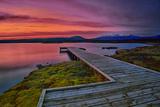 Sunset at Thingvellir Iceland Photographic Print by  aevarg