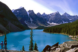 Moraine Lake, Banff Nationalpark, Canada Photographic Print by Hans-Peter Merten