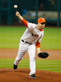 Sep 21, 2014, Seattle Mariners vs Houston Astros - Collin McHugh Photographic Print by Scott Halleran