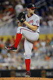 Sep 21, 2014, Washington Nationals vs Miami Marlins - Stephen Strasburg Photographic Print by Eliot J. Schechter