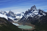 Fitz Roy Massif Photographic Print by Andrew Hares
