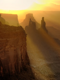 Sun Beams on the Mesa Photographic Print by Daniel Cummins