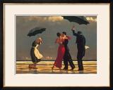 Der singende Butler Poster von Jack Vettriano