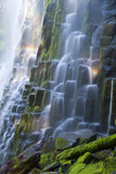 Proxy Falls with Rainbow Photographic Print by Justin Reznick