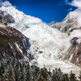Glacier beneath on Mount Gongga Photographic Print by Feng Wei Photography