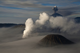 General View of Mt. Bromo. Photographic Print by Athit Perawongmetha