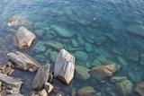 Shoreline, Riomaggiore, Cinque Terre National Park, Cinque Terre, Province of La Spezia, Liguria, I Photographic Print by Arian Camilleri