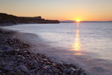 Sunset at Kilve Beach, Somerset. Photographic Print by Nick Cable