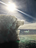 Iceberg Melting in the Sun. Photographic Print by David Trood