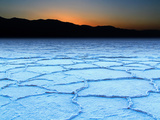 Badwater Salt Flats Photographic Print by David Toussaint
